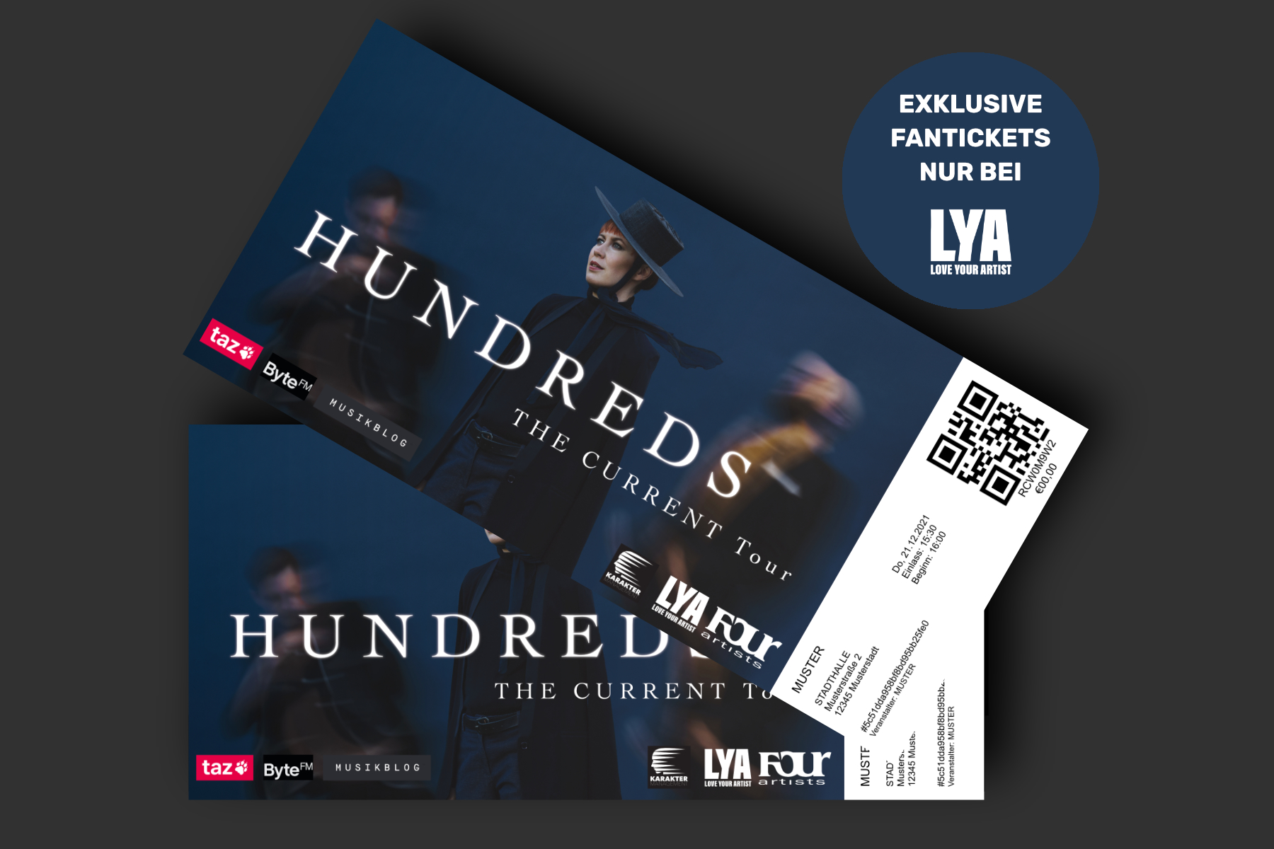 Hundreds Hardtickets